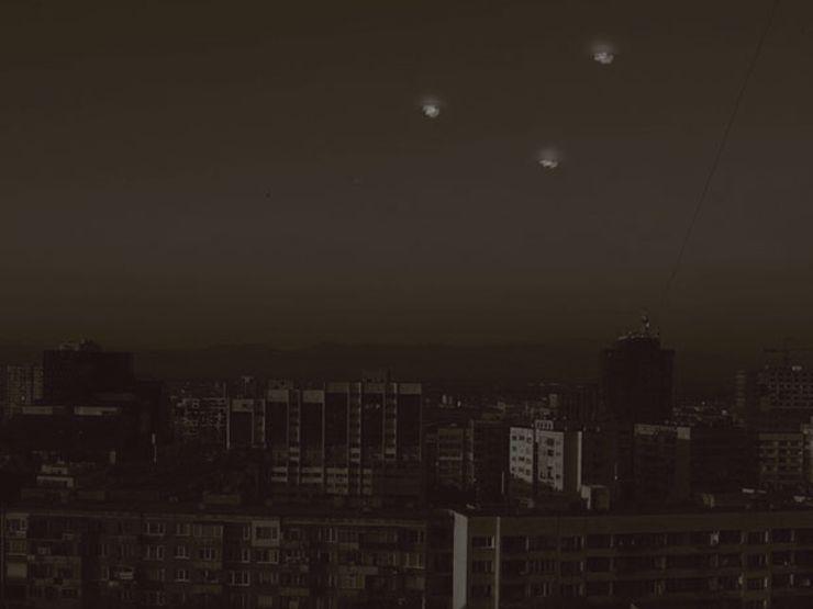 ufo encounter lights