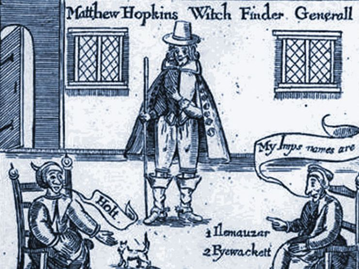 witch trials matthew hopkins