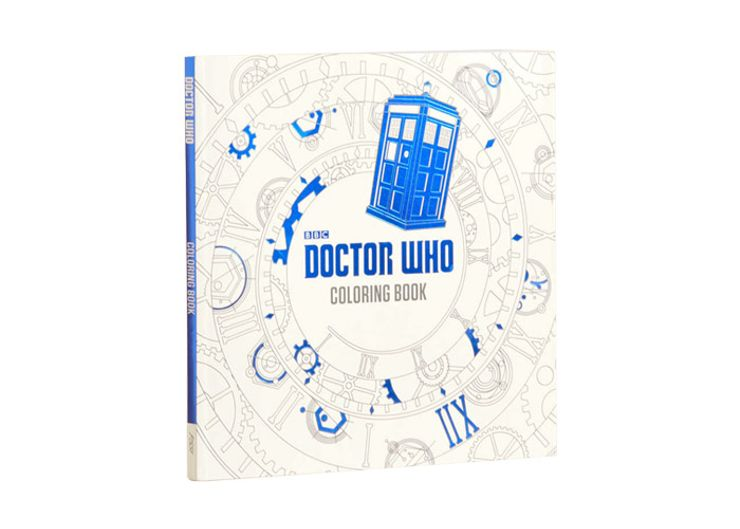 We Cant Guarantee That This Coloring Book Will Be Bigger On The Inside Than It Is Outside But Can Delight Long Time Doctor Who