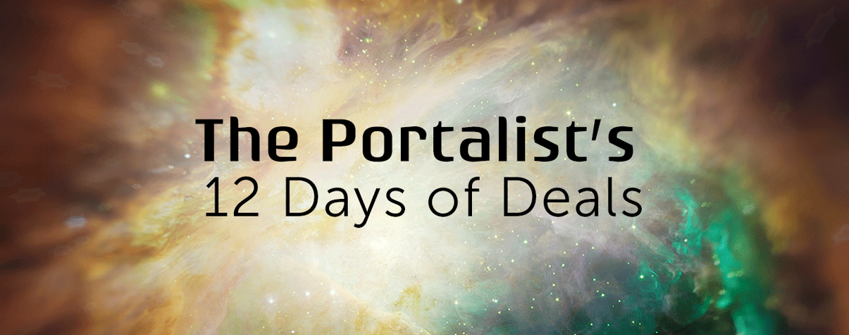 <em>The Portalist</em>'s 12 Days of Deals for Sci-Fi and Fantasy Fans