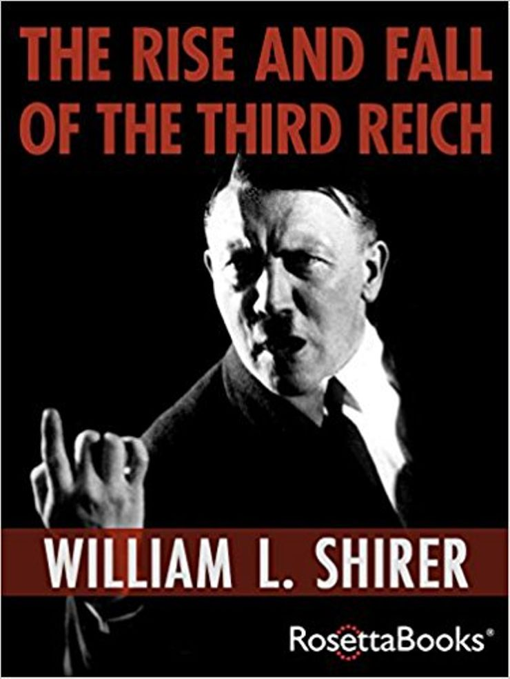 Buy The Rise and Fall of the Third Reich at Amazon