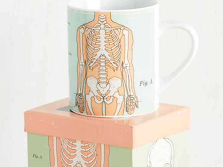 unusual gifts anatomical mug