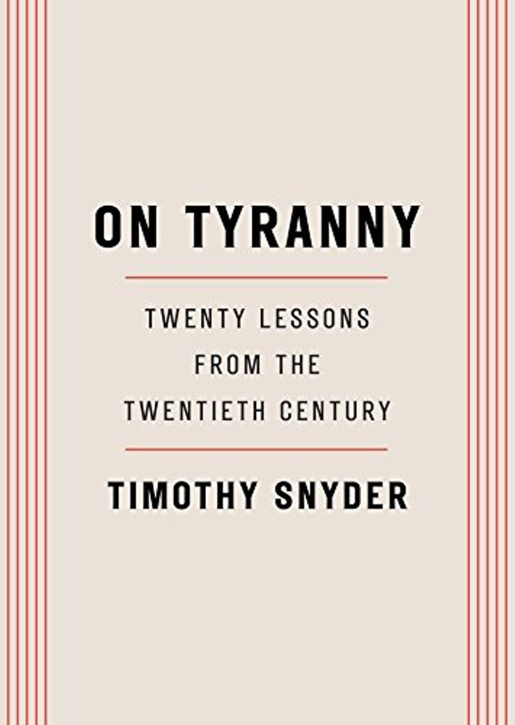 Buy On Tyranny: Lessons from the Twentieth Century at Amazon