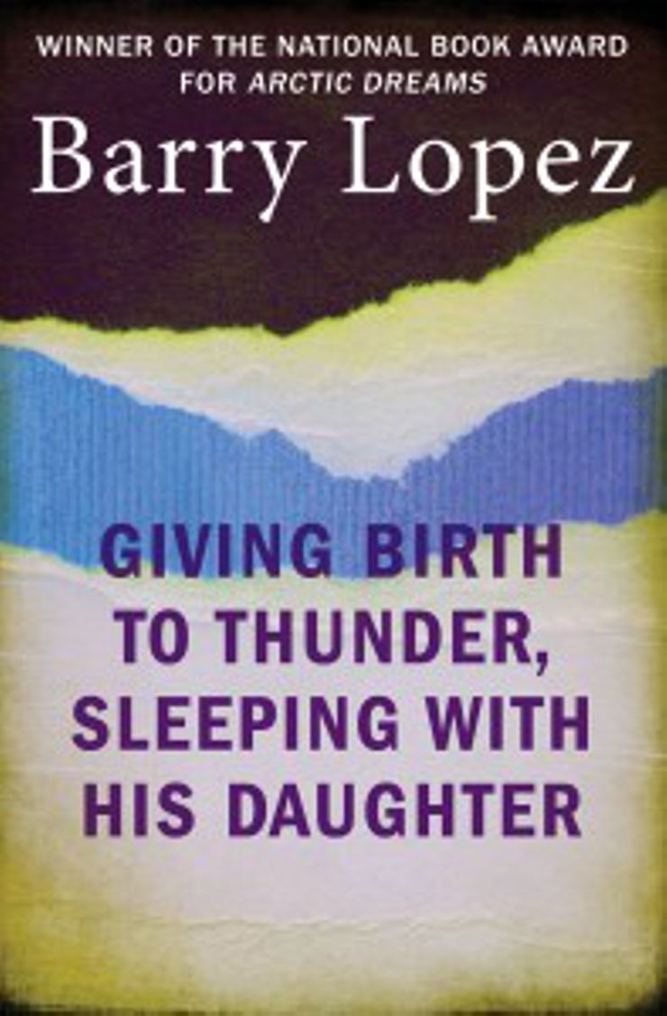 Magical Realism Books Giving Birth to Thunder, Sleeping With His Daughter