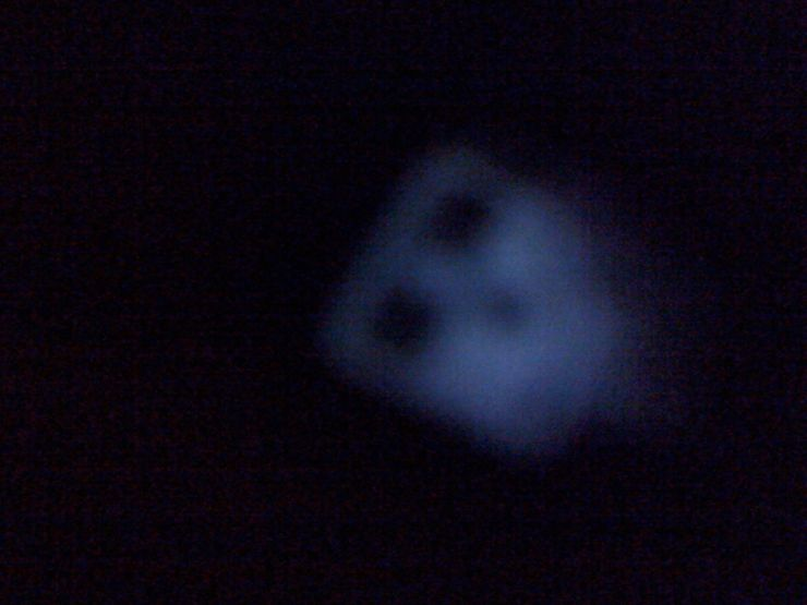 face in the darkness ghost