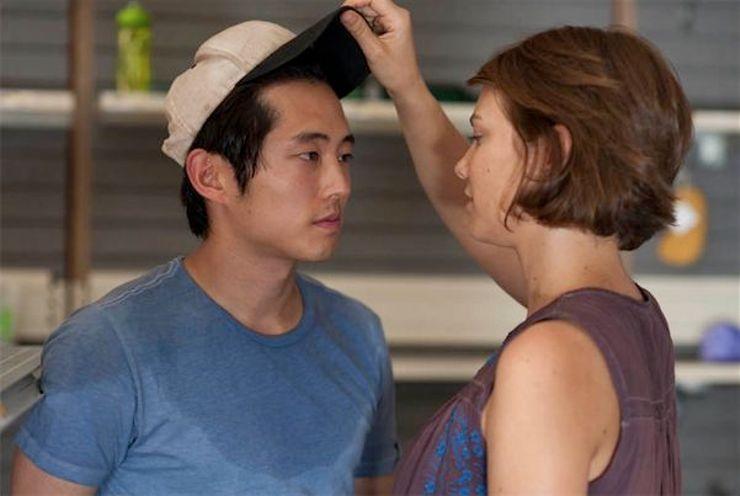 TV couples Glenn Maggie The Walking Dead