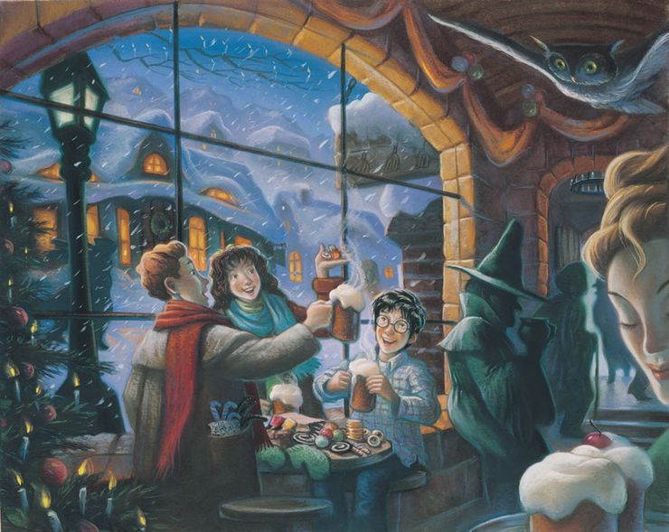 fictional bars taverns The Three Broomsticks Harry Potter
