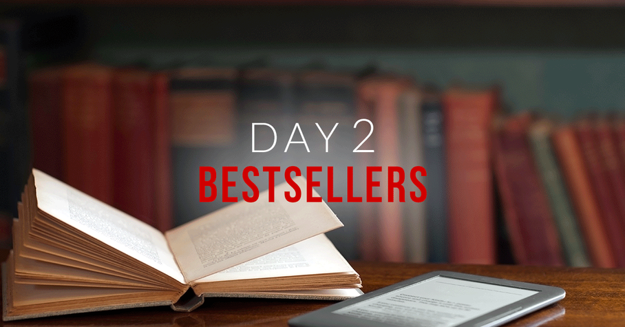 Day 2: Bestselling Books