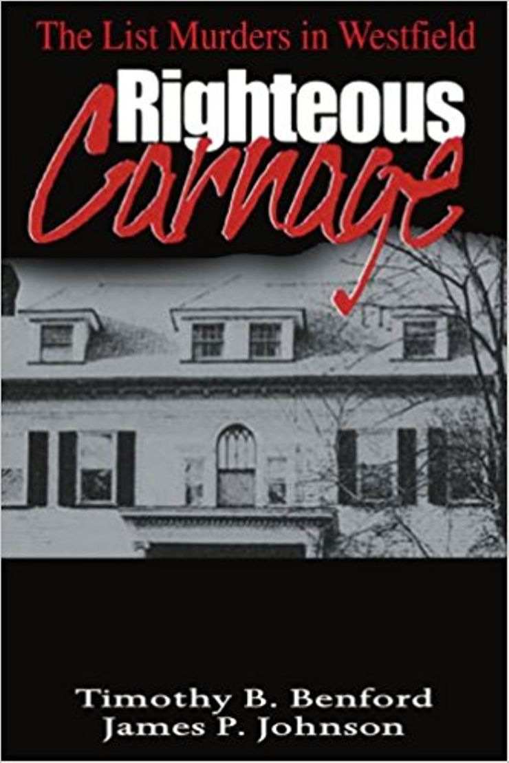 Buy Righteous Carnage: The List Murders in Westfield at Amazon