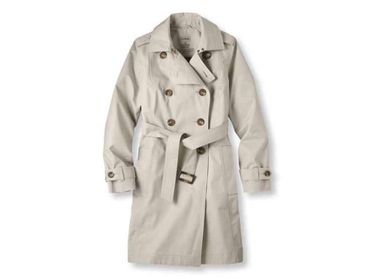 gift guide: l.l. bean trench coat
