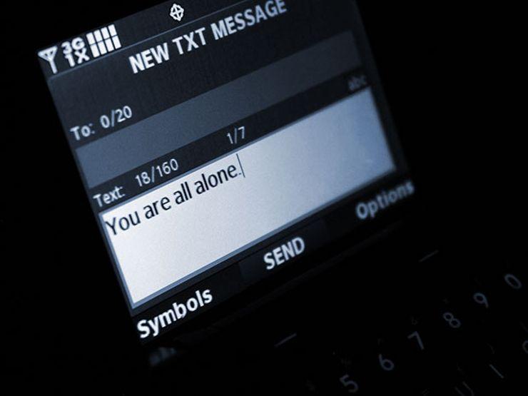 phantom phone calls text message