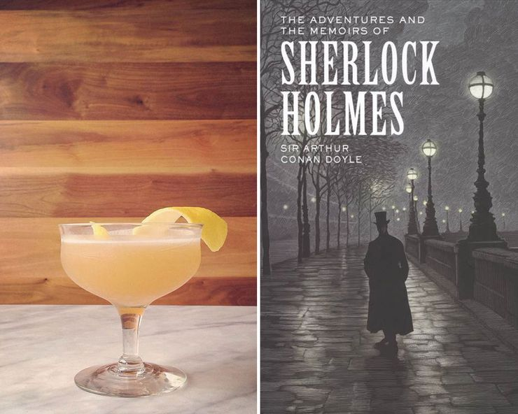 Literary Inspired Cocktails Sherlock Holmes