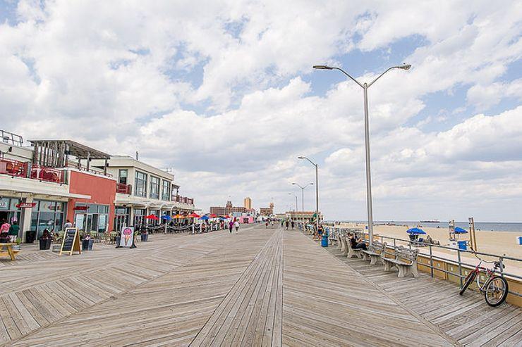 romantic beach getaways Asbury Park New Jersey