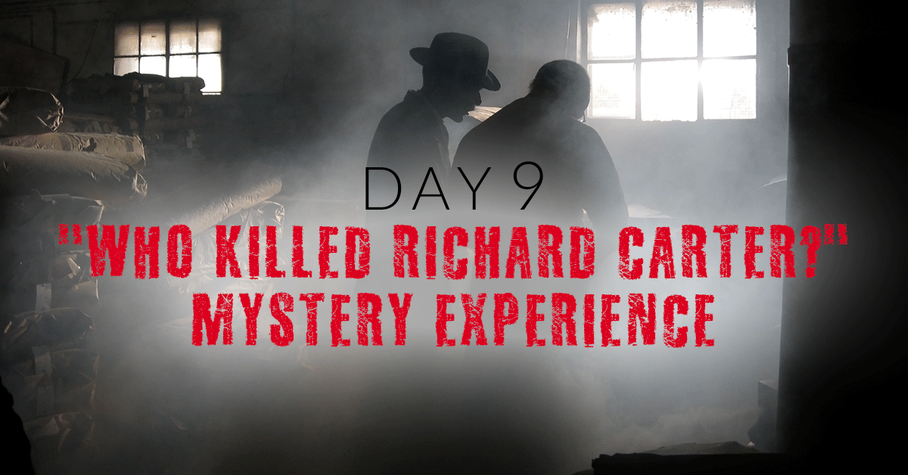 Day 9: Immersive Mystery Experience