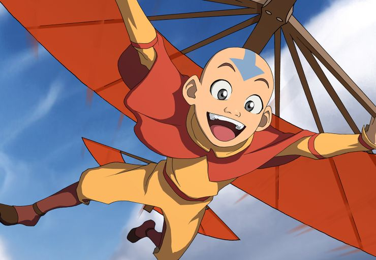 best fantasy characters Aang