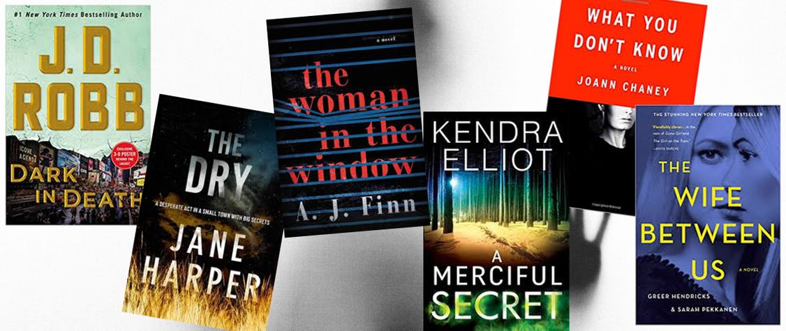 [CLOSED] GIVEAWAY: Win a Book Bundle Filled with Suspense