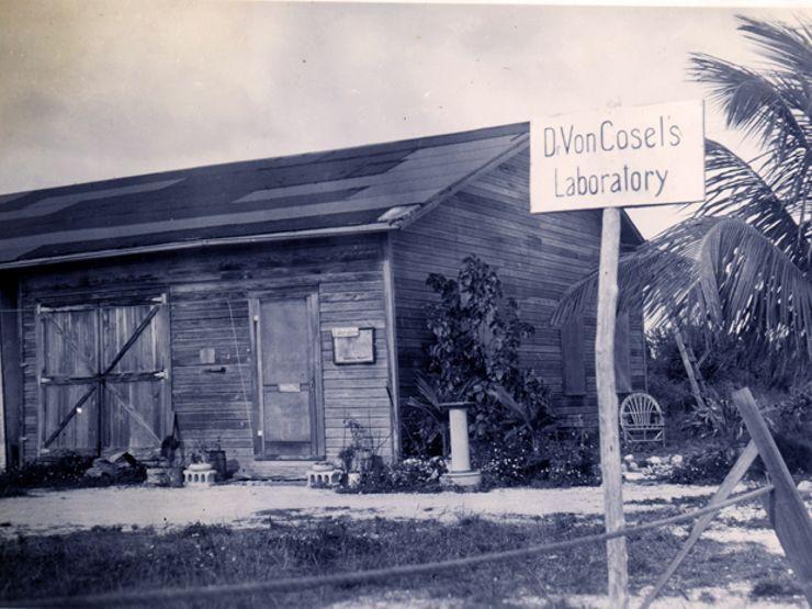 The laboratory of Carl Tanzler – aka, Dr. Von Cosel