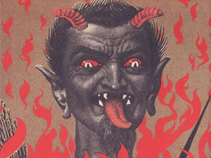 Happy Holidays from the Devil: 19 Freaky Krampus Cards