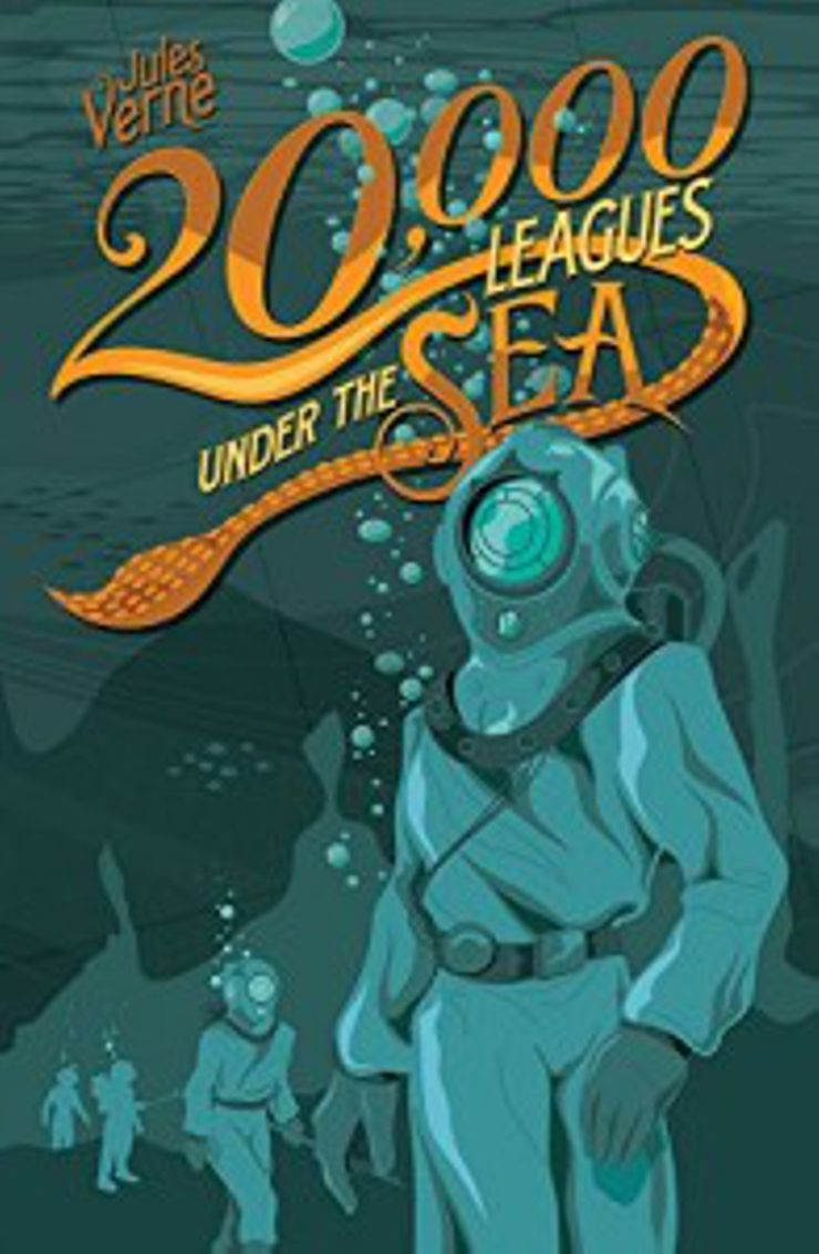 steampunk books Twenty Thousand Leagues