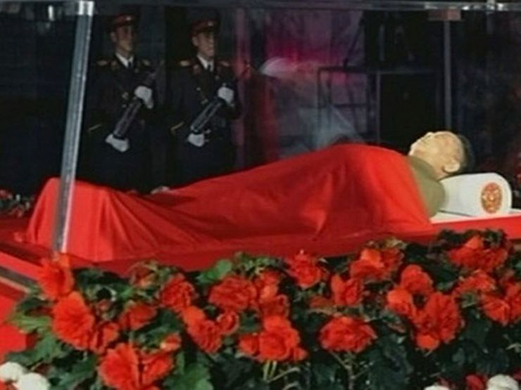 kim jong-il dead bodies you can actually see