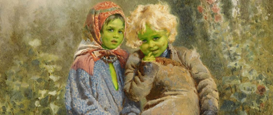 The Bizarre Tale of the Green Children of Woolpit