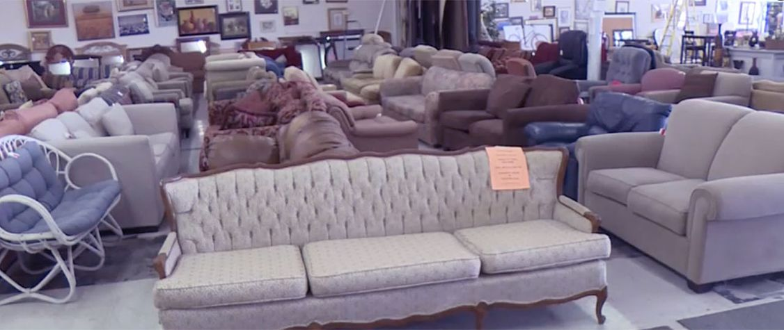 A Thrift Store in Texas Has Had a Haunted Couch in Its Stock for Ten Years
