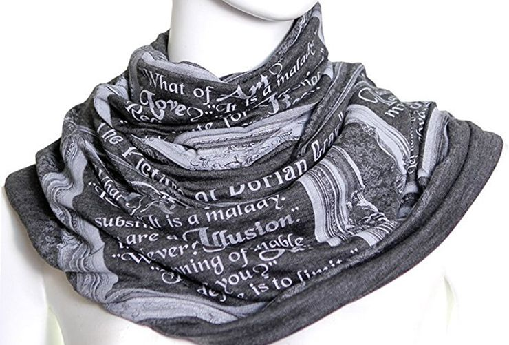 gifts for book lovers Scarf