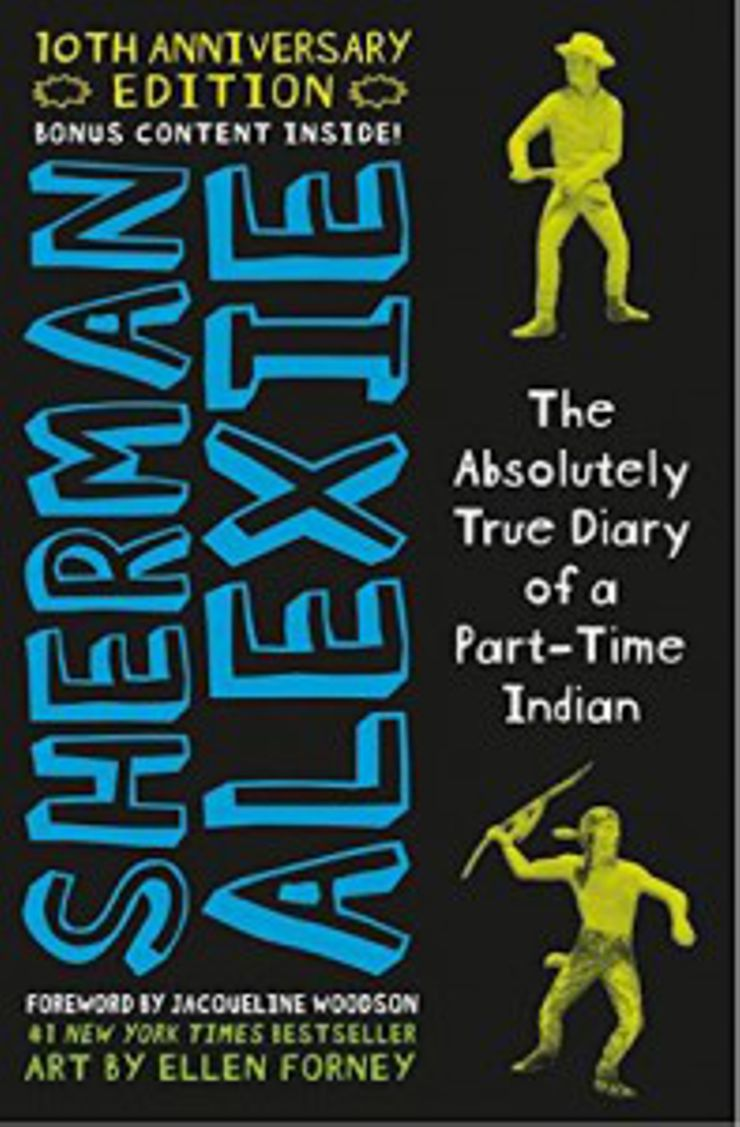 Young Adult Novels The Absolutely True Diary of a Part-Time Indian