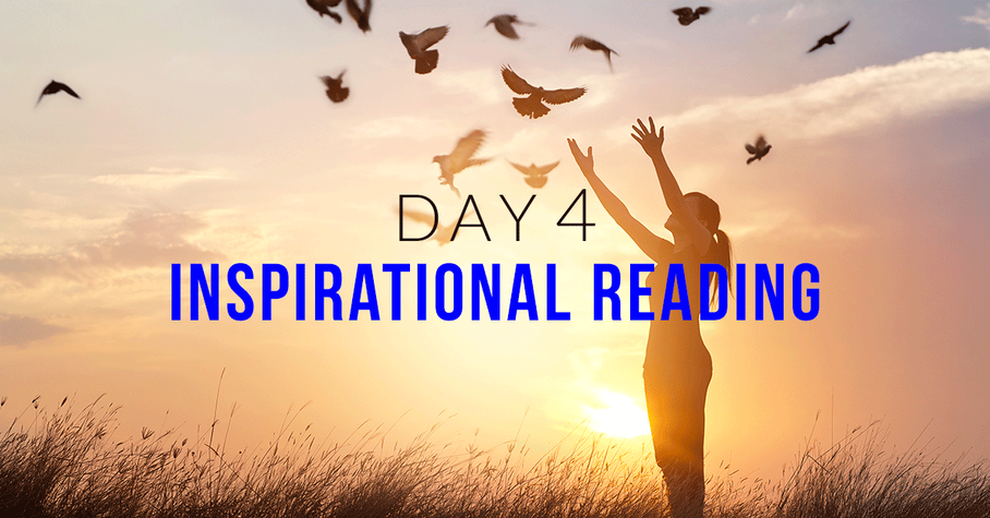 Day 4: Inspirational Reading