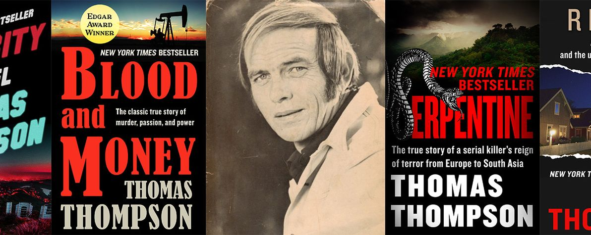 6 Books By Edgar Award-Winning Author Thomas Thompson