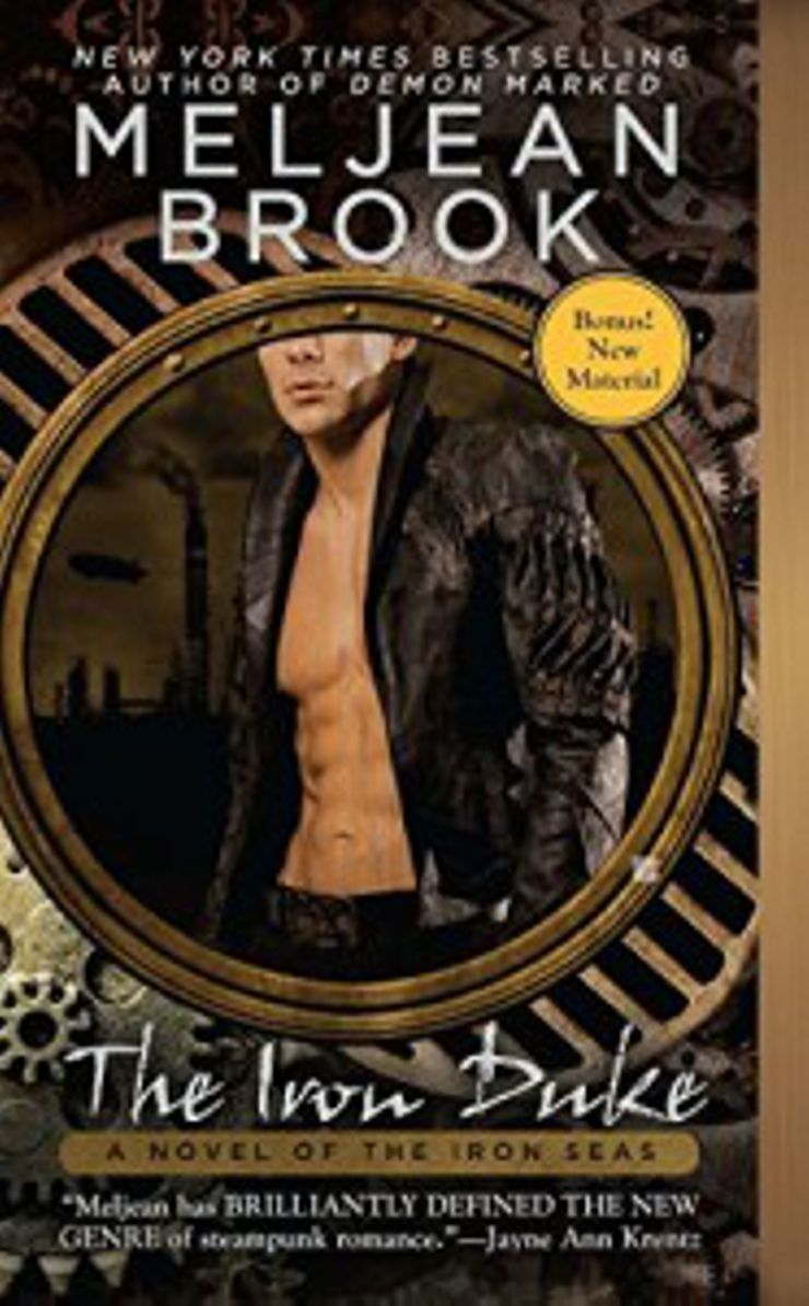 steampunk books Iron Duke