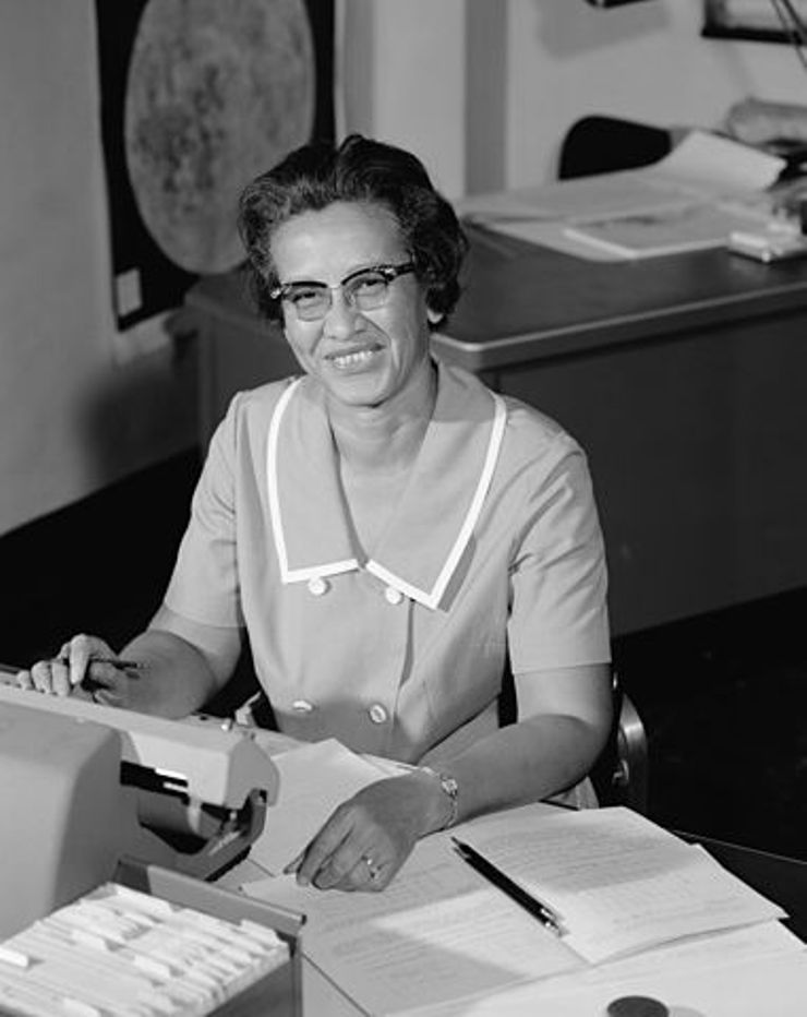 extraordinary facts about katherine johnson NASA 1966