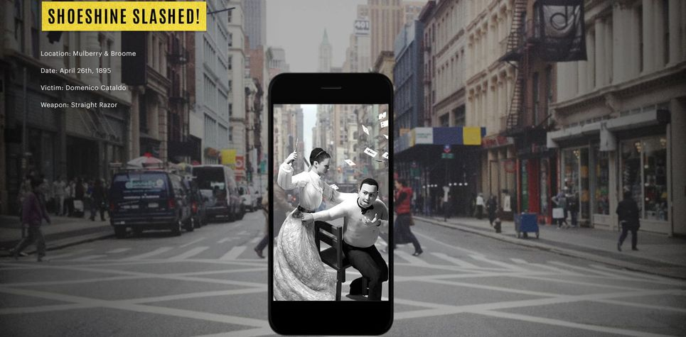 "New App ""Gruesome Gotham"" Transports You to the Scene of Six Historic Manhattan Murders"
