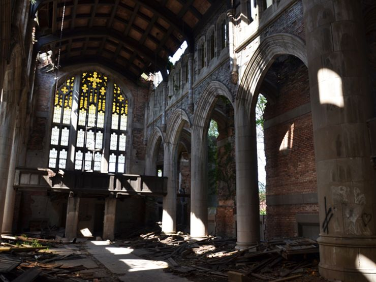 abandoned churches