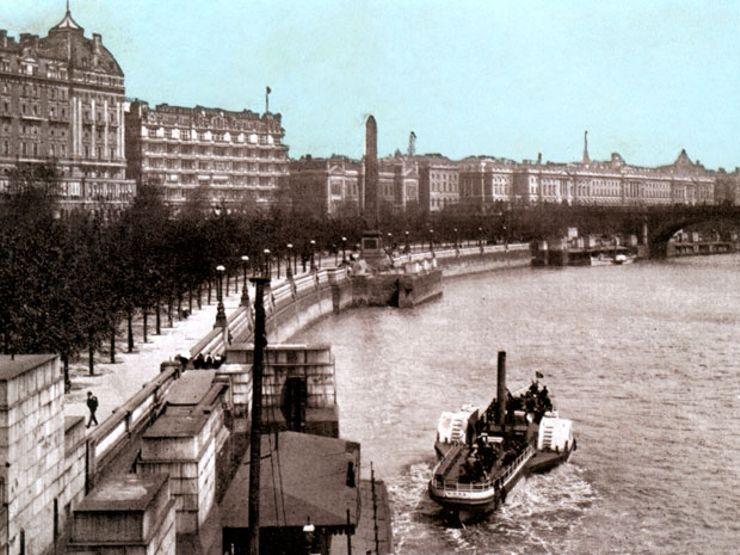 Camden town murder London Thames