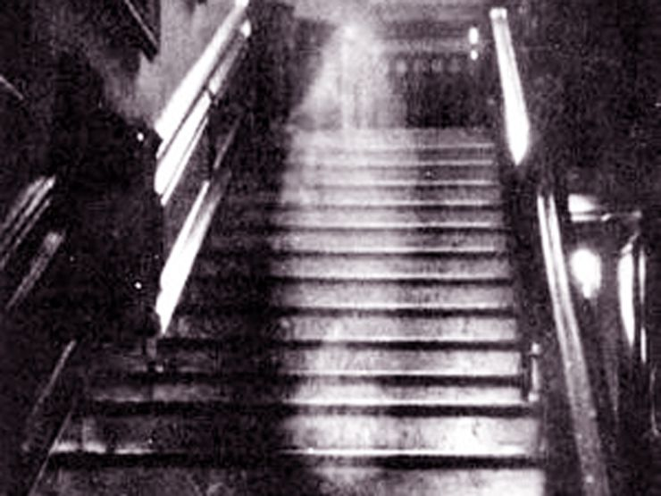 Ghost on the Staircase: The Brown Lady of Raynham Hall