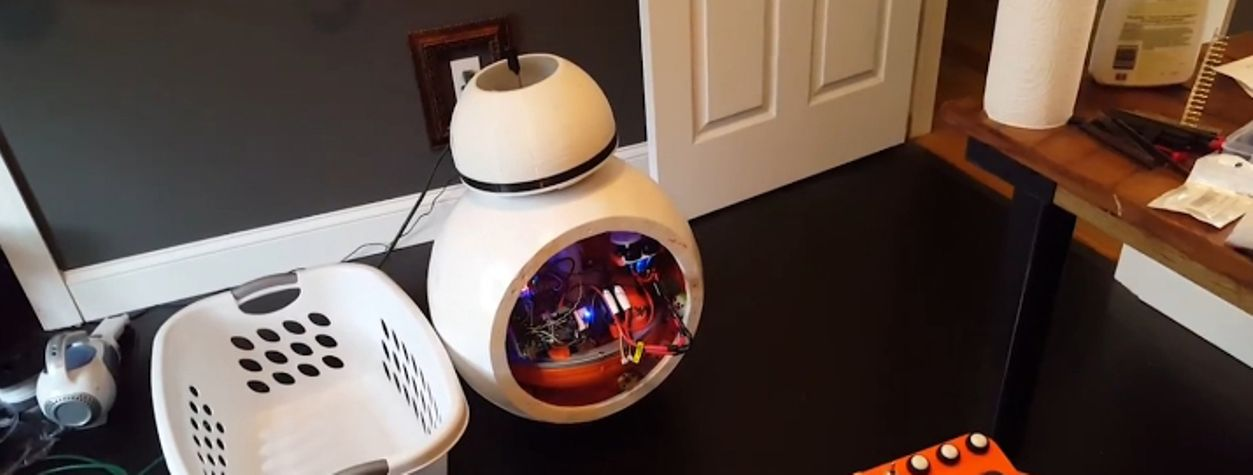 Star Wars Fan Creates His Own Working, Full-Size BB-8 Droid