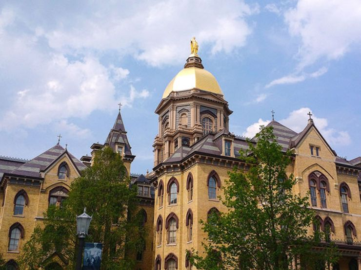 Notre Dame haunted schools