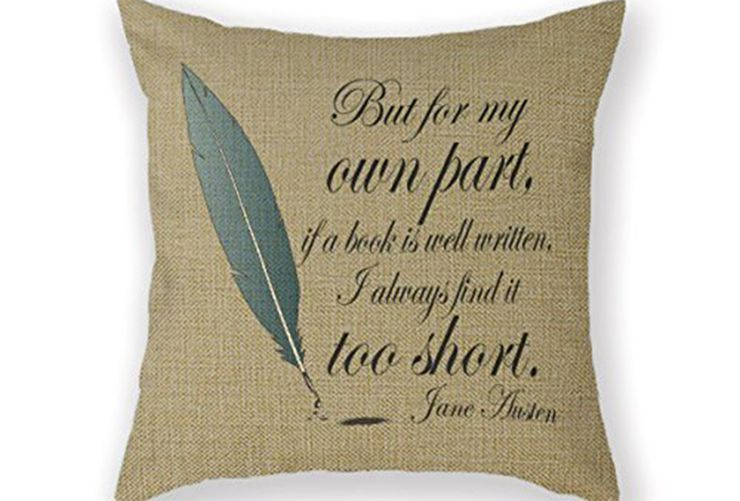gifts for book lovers Pillowcase