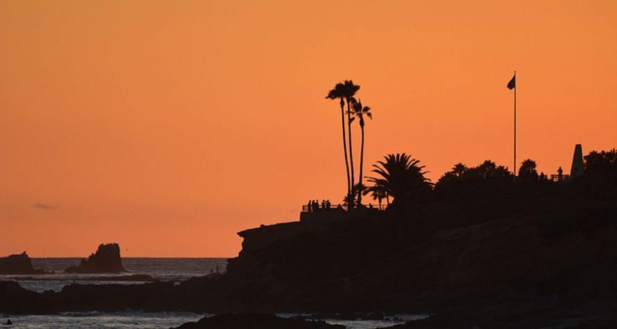 romantic beach getaways Laguna California