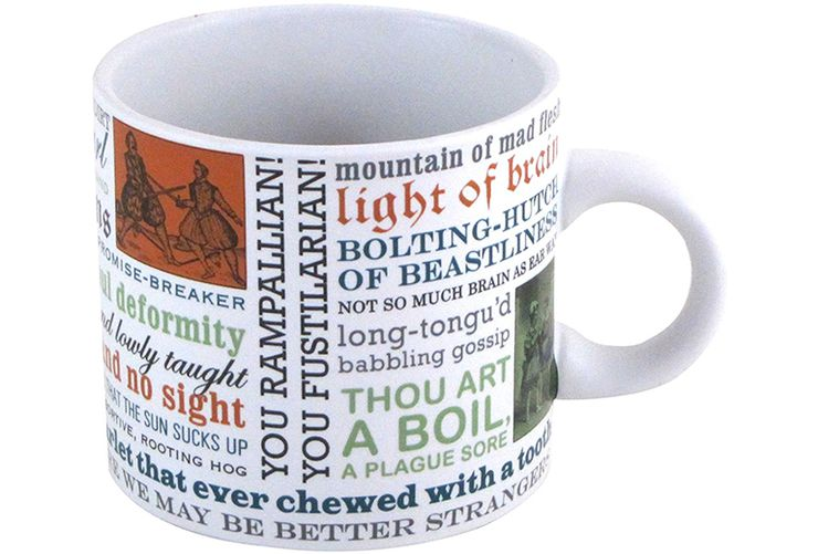 gifts for book lovers Shakespeare Mug