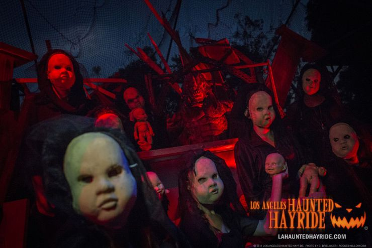 los angeles haunted hayride - haunted house giveaway
