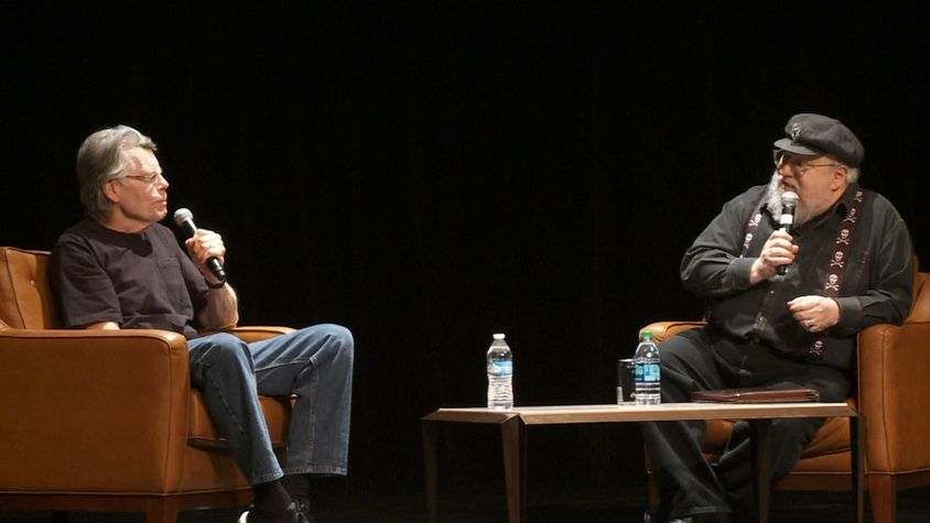 Hear Stephen King & George R.R. Martin Discuss Their Craft