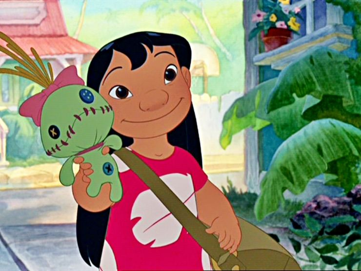 badass female characters Lilo and Stitch