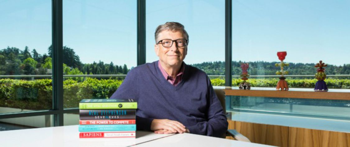 How to Absorb Bill Gates' Reading List Over the Weekend