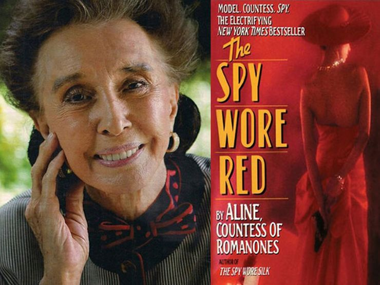 the spy who wore red by aline griffith