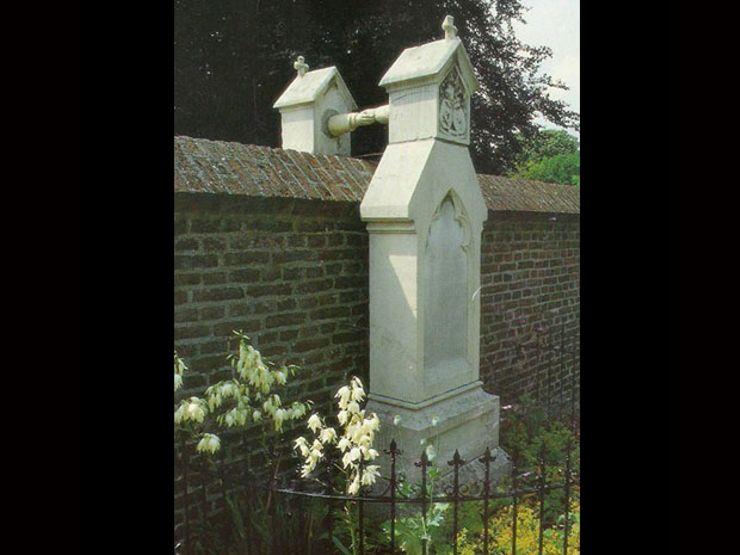 colonel jcph of aeffderson lady jwc van gorkum weird graves