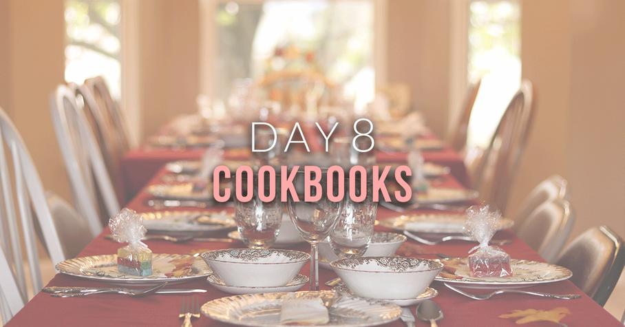 Day 8: Cookbooks