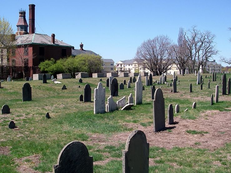 haunted cemeteries howard street