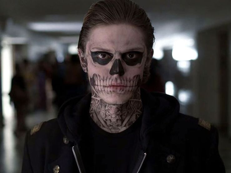 american horror story evan peters